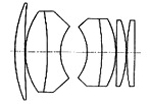 mamiyasekor-55mmf1.4構成図